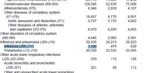 2012 Flu Deaths