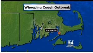whooping cough in MA